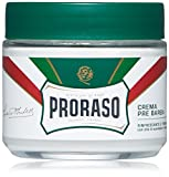 Proraso Pre-Shave Cream, Refreshing and Toning, 3.6 oz.