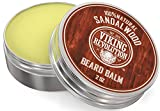 Best Deal Beard Balm with Sandalwood Scent and Argan & Jojoba Oils - Styles, Strengthens & Softens Beards & Mustaches - Leave in Conditioner Wax for Men by Viking Revolution