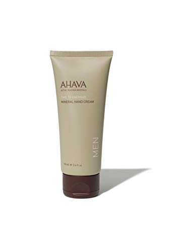 AHAVA Men's Mineral Hand Cream, 100 m l