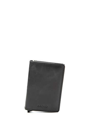 Secrid Men Slim Wallet Genuine Leather RFID Card...