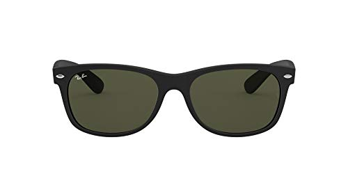 Ray-Ban RB2132 New Wayfarer Sunglasses, Rubber...