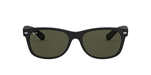Ray-Ban RB2132 New Wayfarer Sunglasses, Black...