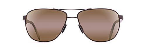 Maui Jim Castles Aviator Sunglasses, Matte...