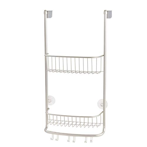 iDesign Forma Bathroom Over the Door Shower Caddy...