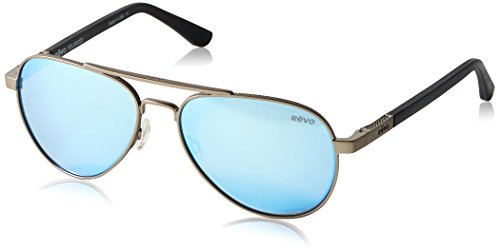 Revo Racnteur Polarized Aviator Sunglasses,...