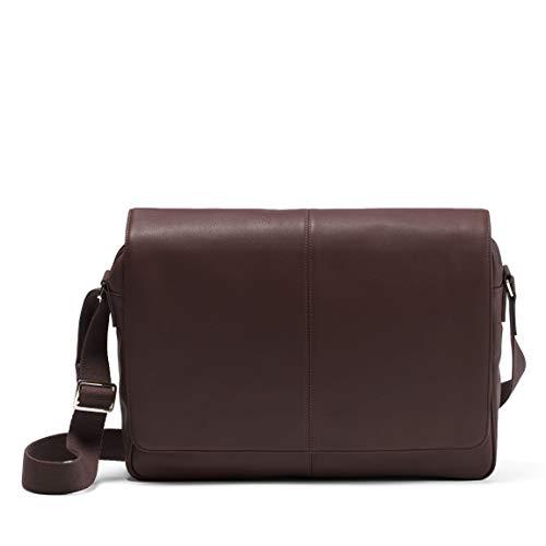 Leatherology Brown Laptop Messenger Bag