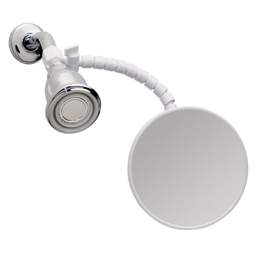iDesign Fog-Free Small Shower Shaving Mirror with...