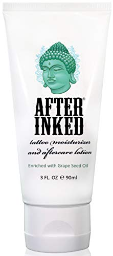 After Inked Tattoo Moisturizer & Aftercare Lotion...