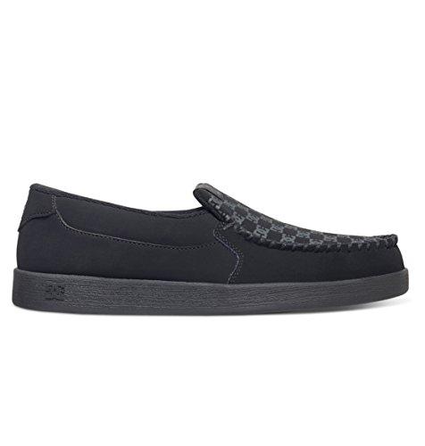 DC Men's Villain TX Slip-on Skate Shoes, black...