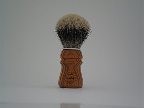 S.O.C. Cherry Wood Shave Brush - Badger shave...