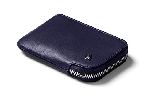 Bellroy Leather Card Pocket Wallet, slim zipper...