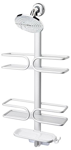 OXO Good Grips 3-Tier Aluminum Shower Caddy