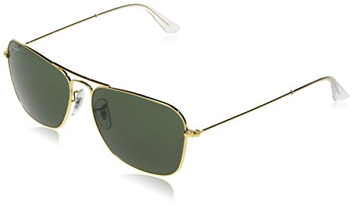 Ray-Ban RB3136 Caravan Square Sunglasses, Arista...