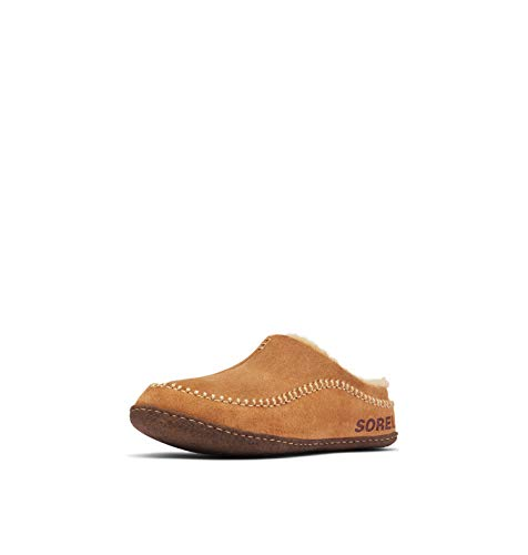 Sorel Men's Open-Back Slippers, Camel Brown/Curry,...