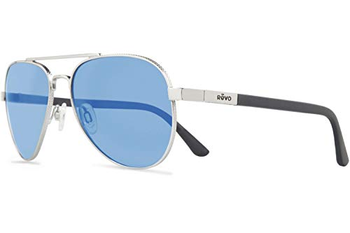 Revo Unisex Raconteur Sunglasses, Gold Frame,...