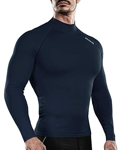 DRSKIN Men's Long Sleeve Compression Shirts Top...
