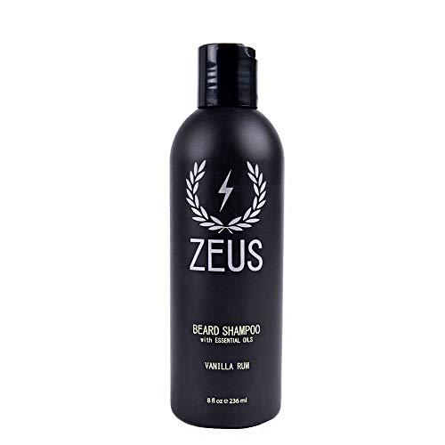 ZEUS Beard Shampoo and Wash for Men - 8oz - Beard...