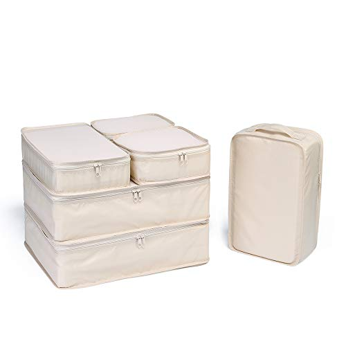 JJ POWER Travel Packing Cubes, Luggage Organizers...