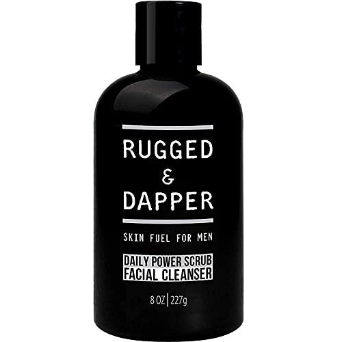 RUGGED & DAPPER Daily Power Scrub Face Wash +...