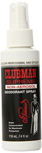 Clubman Supreme Non-Aerosol Deodorant, 4 fl oz