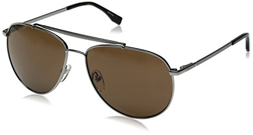 Lacoste Men's L177S Aviator Sunglasses,...