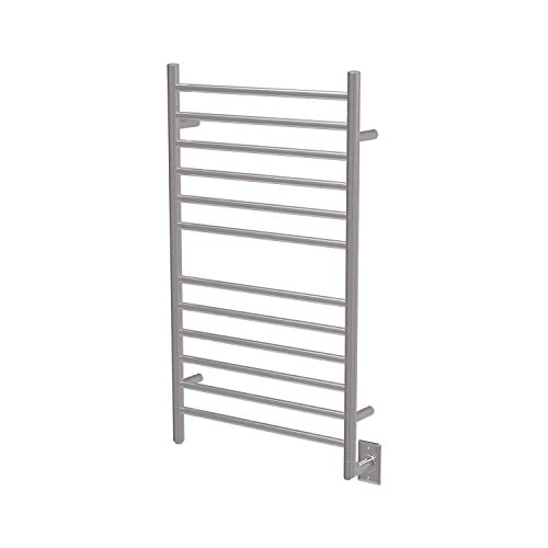 Amba RSWH-B Hardwired Radiant Square Towel Warmer,...