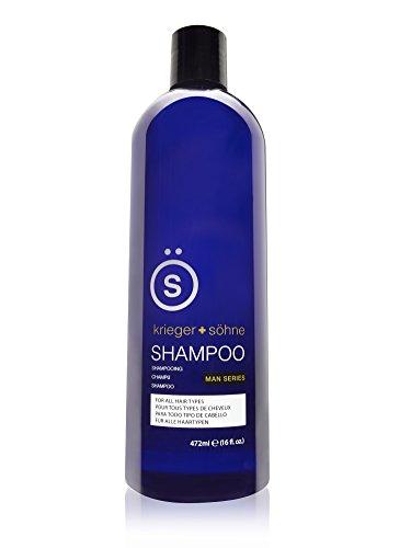 Shampoo for Mens Hair - Contains Invigorating Tea...