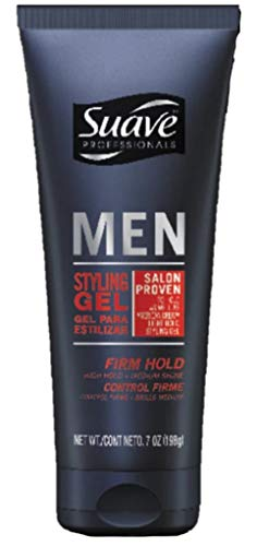 Suave Professionals Men's Styling Gel, Firm Hold,...