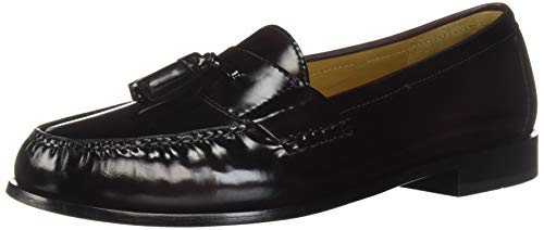 Cole Haan Men's Pinch Tassel Loafer, Burgundy, 10...