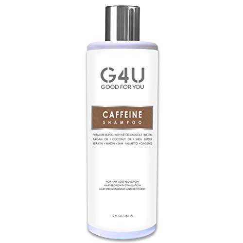 G4U Caffeine Shampoo for Hair Loss, Hair Growth...