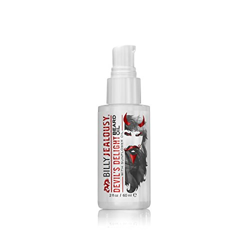 Billy Jealousy Devil's Delight Beard Oil, 2 Fl Oz