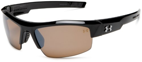 Under Armour Igniter Sunglasses Oval, Black/Gray...