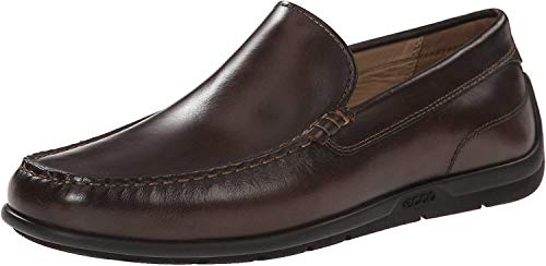 ECCO Men's Classic Moc 2.0, Coffee, 5-5.5