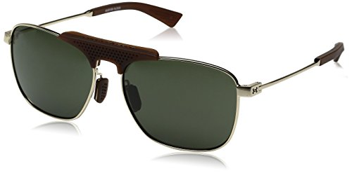 Under Armour Rally Aviator Sunglasses, SHINY...