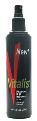 Vitalis Hairspray Pump Maximum Hold 8 oz. (Case of...