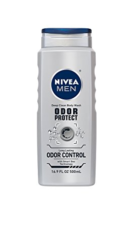 NIVEA Men Platinum Protect 3-in-1 Body Wash 16.9...