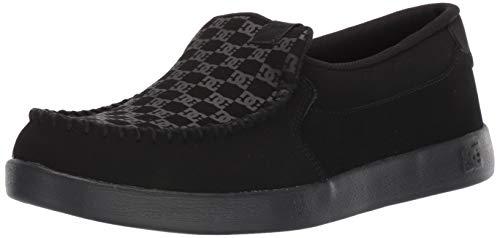 DC Men's Villain Casual Slip On Skate Shoe, Black,...