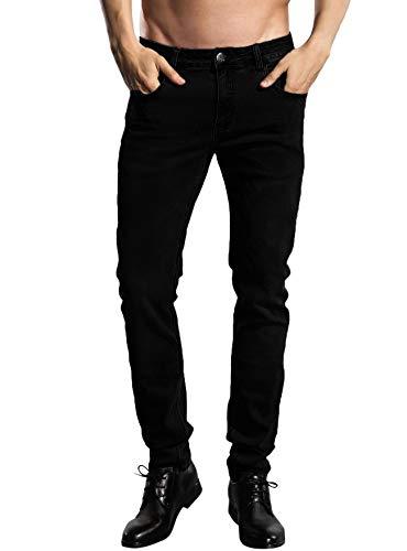ZLZ Slim Fit Jeans, Men's Younger-Looking...
