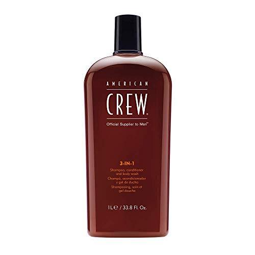 AMERICAN CREW 3-in-1 Shampoo Conditioner and Body...
