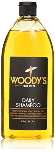 Woody's Daily Shampoo for Men, 33.8 oz