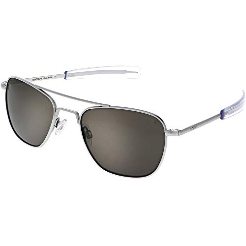 Randolph Matte Chrome Classic Aviator Sunglasses...