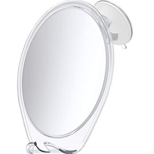 HoneyBull Shower Mirror for Shaving Fogless with...