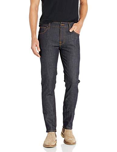 Nudie Jeans Men's Thin Finn Jean in Dry Twill, Dry...