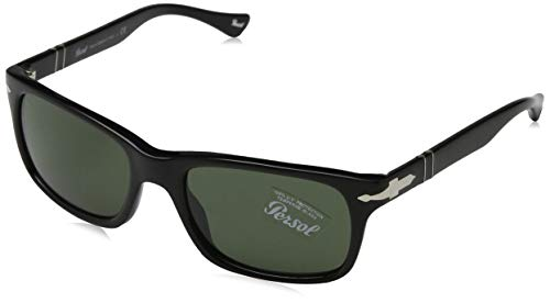 Persol PO3048S Sunglasses 95/31 Black/Crystal...