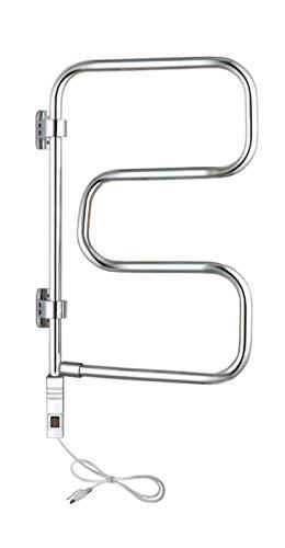 WarmlyYours 4-Bar Elements Towel Warmer, Plug-in,...