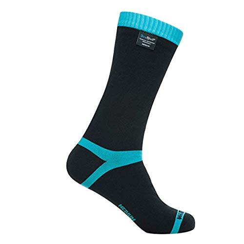 Dexshell Coolvent Mid-Calf Waterproof Socks, Aqua...