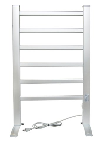 LCM Home Fashion 6-Bar Freestanding Towel Warmer,...