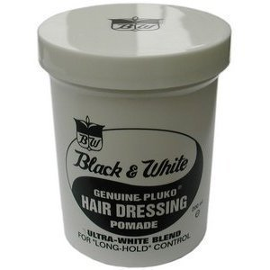 Black & White Genuine Pluko Hair Dressing Pomade...