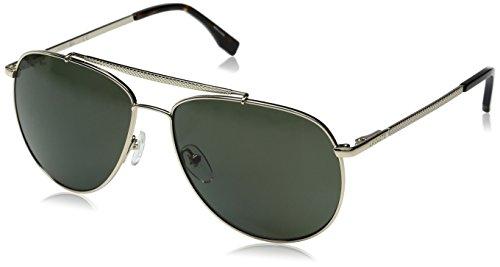 Lacoste Men's L177SP Polarized Aviator Sunglasses,...