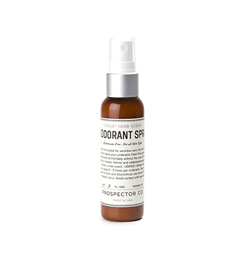 Prospector Co Deodorant Spray